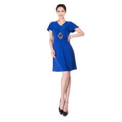 N.L针织短袖连衣裙 货号109428