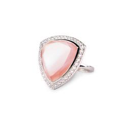 MARC红粉佳人珍珠母贝戒指