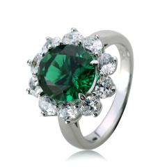 HB生命绿色系列之戒指 货号114389