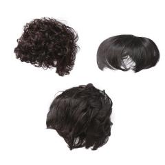 海瑞儿时尚自然假发套组