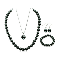 魅力黑色系列贝宝珠4件套