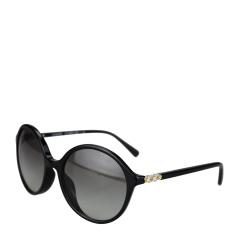 COACH/蔻驰 女士黑色镜框渐变镜片雏菊镜架时尚太阳镜 8188BF 500211 55