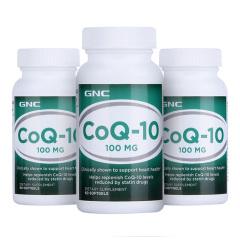 美国GNC辅酶Q10超值特供组 货号123372
