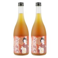日本进口纪伊红糖梅酒730ml两瓶装