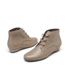 爱柔仕(AEROSOLES)羊皮学院风圆头低跟踝靴1915605T07
