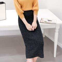 采沂 时尚纯色半身裙