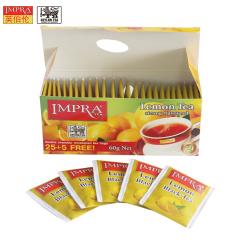 斯里兰卡原装进口 IMPRA 英伯伦柠檬味调味茶(2g*30袋)60g