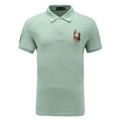 皇家棕榈马球俱乐部 男短袖商务休闲POLO衫翻领男士T恤13528113