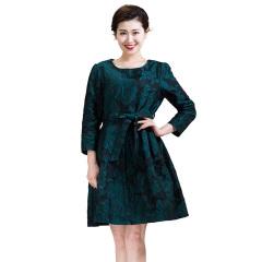 DS腰带款优雅礼裙  货号122390