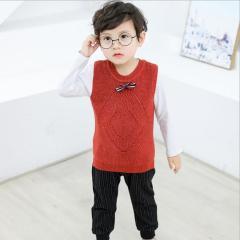 儿童宝宝套装 韩版三件套 中小童秋季套装 2019童套装男童
