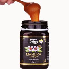 新西兰进口 Nature Being 内确麦卢卡蜂蜜 UMF10+ 500g