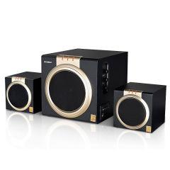 韩国现代电脑音响 蓝牙音箱有源桌面2.1大功率低音炮