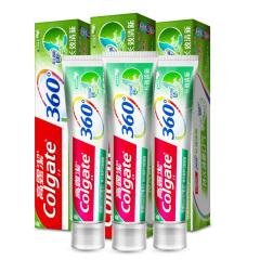 高露洁(Colgate)360长效清新牙膏120g*3