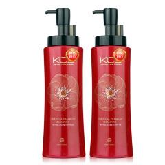 韩国原装进口爱敬可希丝顺滑洗发香波470ml两瓶装