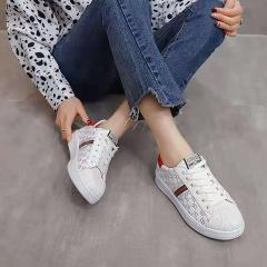 HSAMS 大牌风时尚休闲小白鞋