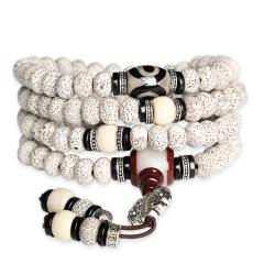玉琳宝珑 星月菩提手串108颗佛珠 男女款108颗佛珠正月菩提子项链手链