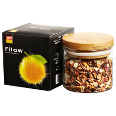 Fitow 菲特 水果之吻花果茶 水果茶 水果香草奶油焦糖口味 果粒茶 果味茶 100克/罐