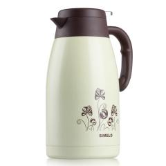 施美乐SIMELO 保温壶2.0L 不锈钢平安保温瓶暖壶 印象京都系列 蒲公英