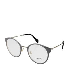 MiuMiu/缪缪 女式灰色镜框透明镜片金色镜架光学眼镜 51PV USR1O1 50