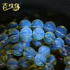 百生缘-蓝珀108串珠