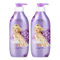 韩国原装进口爱敬可希丝名画沐浴液2瓶装