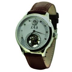 卓派抗战陀飞轮大阅兵长征纪念收藏手表
