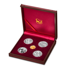 第七届世界军运会金银纪念币