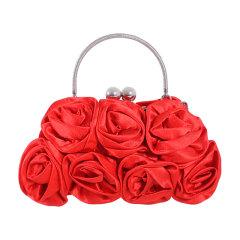 伊法兰妮大圆球扣玫瑰花晚宴包 B003735