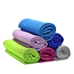 魔幻冰丝冰感降温运动毛巾 健身跑步擦汗神器
