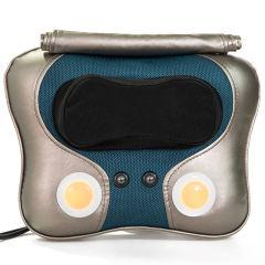 瑞仕康(RSK)颈椎按摩器仿真人加热理疗按摩枕 多功能按摩器腰部肩部按摩靠垫