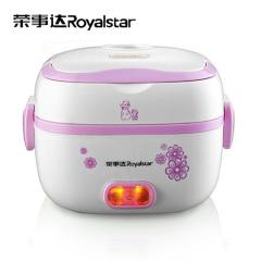 荣事达(Royalstar)电子饭盒RFH20K内置不锈钢内胆、蛋架,可蒸饭蒸蛋