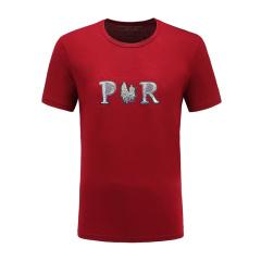 皇家棕榈马球俱乐部 男士短袖休闲圆领印花T恤男T恤13522326