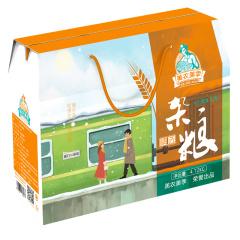 美农美季 东北五谷粗粮 精选杂粮礼盒5种4.72kg(红小豆 薏仁米 黄豆 黄小米 黑米)