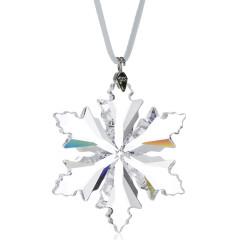 施华洛世奇Swarovski 水晶雪花挂件 5059028小号透明