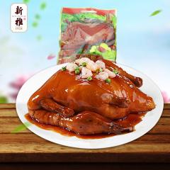 上海特产新雅八宝鸭800g卤味熟食鸭肉葫芦鸭