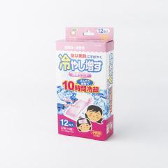 日本原产KOKUBO小久保降温贴冰冰贴蜜桃味(12片)