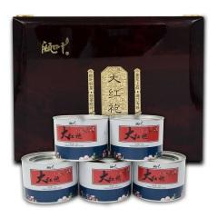 瓯叶 大红袍 武夷岩茶茶叶 乌龙茶 60克/罐*5 礼盒装