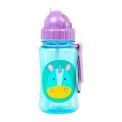 Skip Hop 可爱动物园儿童塑料吸管杯350ml