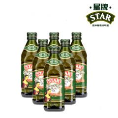 星牌原瓶原装进口特级初榨橄榄油500ML*6超值家庭装