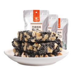 山里仁 芝麻核桃果仁酥 130g*3袋  约45小袋 零食糕点
