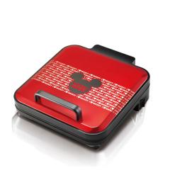 迪士尼(Disney)电饼铛RSD-BF300  红色 双面悬浮加热