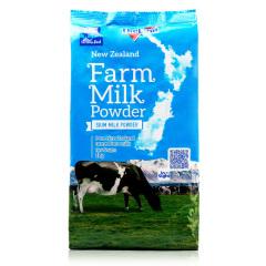 新西兰原装进口纽仕兰成人奶粉高钙学生脱脂奶粉400g
