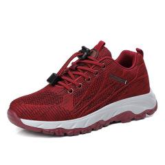 2021春季新款老人鞋女运动休闲中老年妈妈鞋轻便软底健步鞋