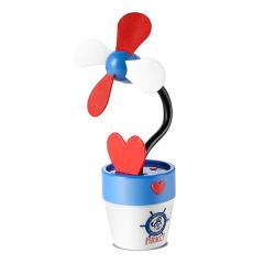 迪士尼(Disney)USB花盆电风扇DSN-FM05A  健康EVA材质
