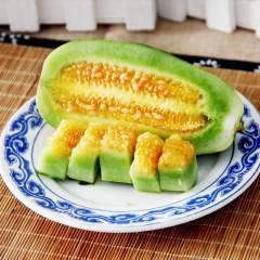 【新鲜水果】山东博洋9号甜瓜 4.2-4.5斤装 约4-7根