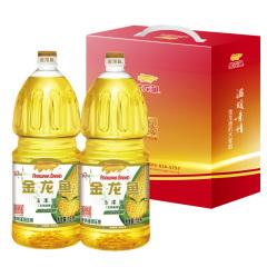 金龙鱼玉米油礼盒1.8L*2