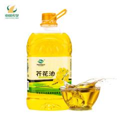【中国农垦】呼伦贝尔品生态 物理压榨非转基因食用油芥花油4.5L