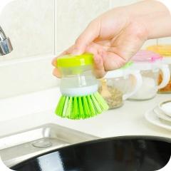 厨房小工具刷锅液压洗锅刷碗刷厨房清洁用刷不粘油刷碗刷子 2个