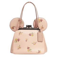 COACH Disney X  Kisslock Bag