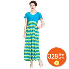 N.L针织收腰连衣裙 货号110102